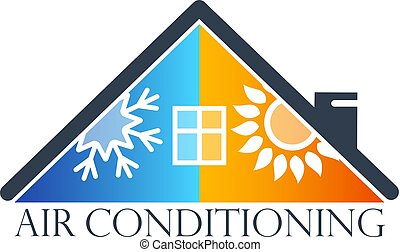 House air conditioner symbol - House air conditioner is a...