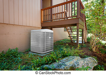 House air conditioning and heating
