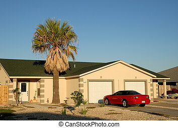 House and car in the southern United States