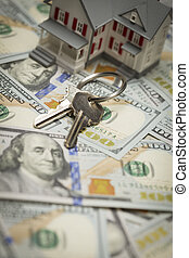 House and Keys on Newly Designed One Hundred Dollar Bills