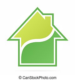 House and real estate logo
