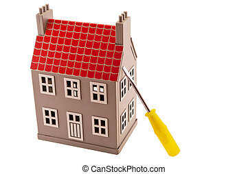 House and screwdriver