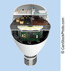 House appliances in LED bulb - House appliances and...