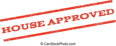 House Approved Watermark Stamp