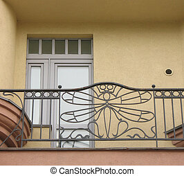 house., arte nouveau, sacada