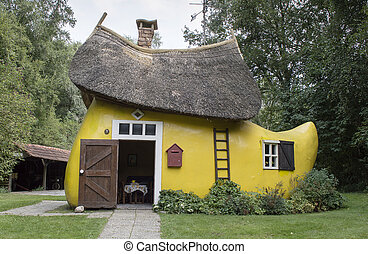 house as wooden shoe - wooden shoe house in holland museum