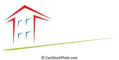 House at arrow