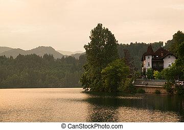 House at lake Bled