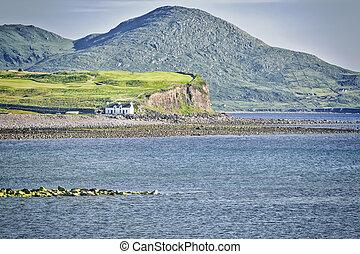house at the coast
