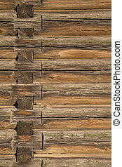 house., bois, vieux, journaux bord, texture