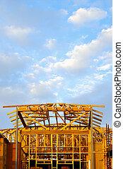 House building - building a house