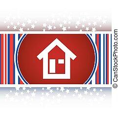 house button, signs, icons set, vector vector