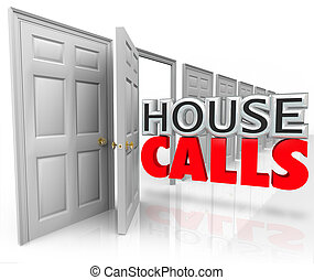 House Calls Doctor Professional Visit Home Appointment