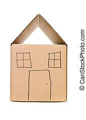 House Cardboard Box
