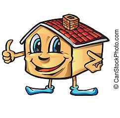 house cartoon i like