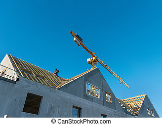 House construction, roofing