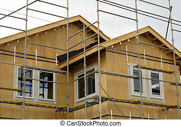 House construction detail-useful for an estate agency...