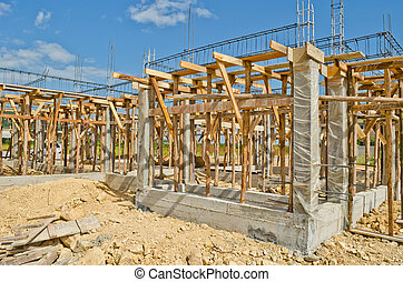 house construction in development