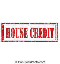 House Credit-stamp