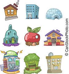 house doodle  - house doodle