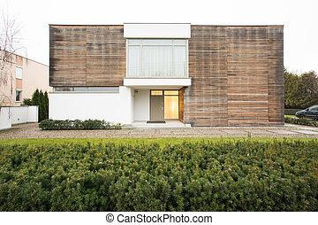 House exterior originaly designed