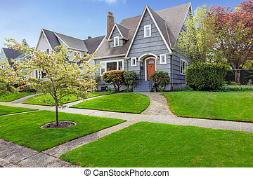 House exterior with curb appeal - House exterior. View of ...