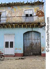 House facade in Trinidad