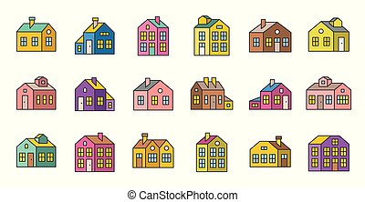 house filled outline vector icon, pixel perfect