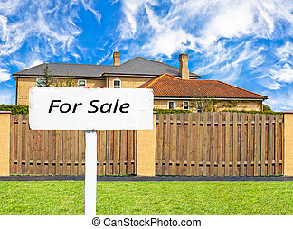 House for sale behind the fence