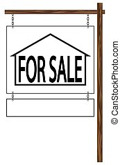 House For Sale Hanging Sign