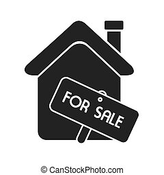 house for sale home real estate isolated
