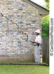 House Foundation Damage