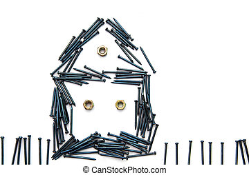 House from Nails