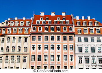 House front in Dresden