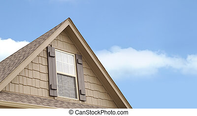 House Gable with widow