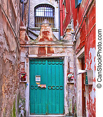 House gate in Venice