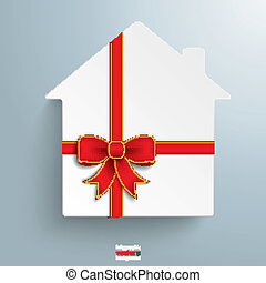 House Gift Ribbon