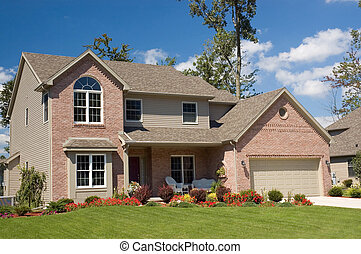 House - Gorgeous brick home with lots of nice masonry...