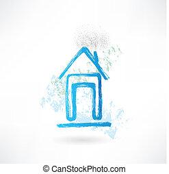 house grunge icon
