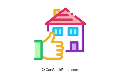 house hand gesture show like Icon Animation