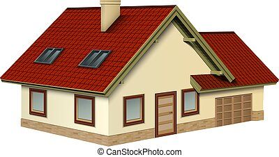 House icon 3D