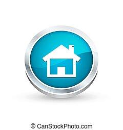 House icon, button