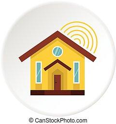 House icon circle