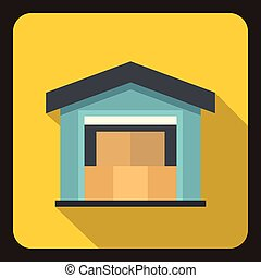 House icon, flat style