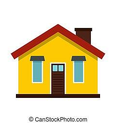 House icon, flat style