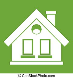 House icon green