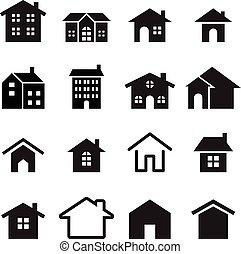House icon - Houses icon