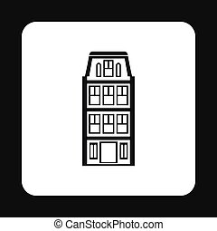 House icon in simple style