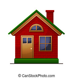House icon isolated on white background