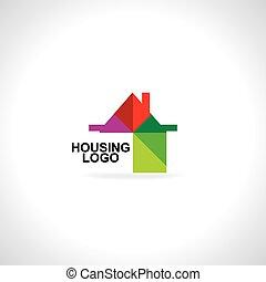 house icon logo concept